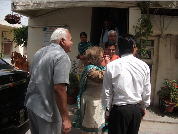 amartex2 Amartex: Mrs Salma Ansari Wife Of Vice President Of India Visited At Amartex