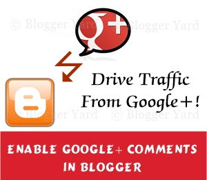 How to Implement Google plus comments in Blogger