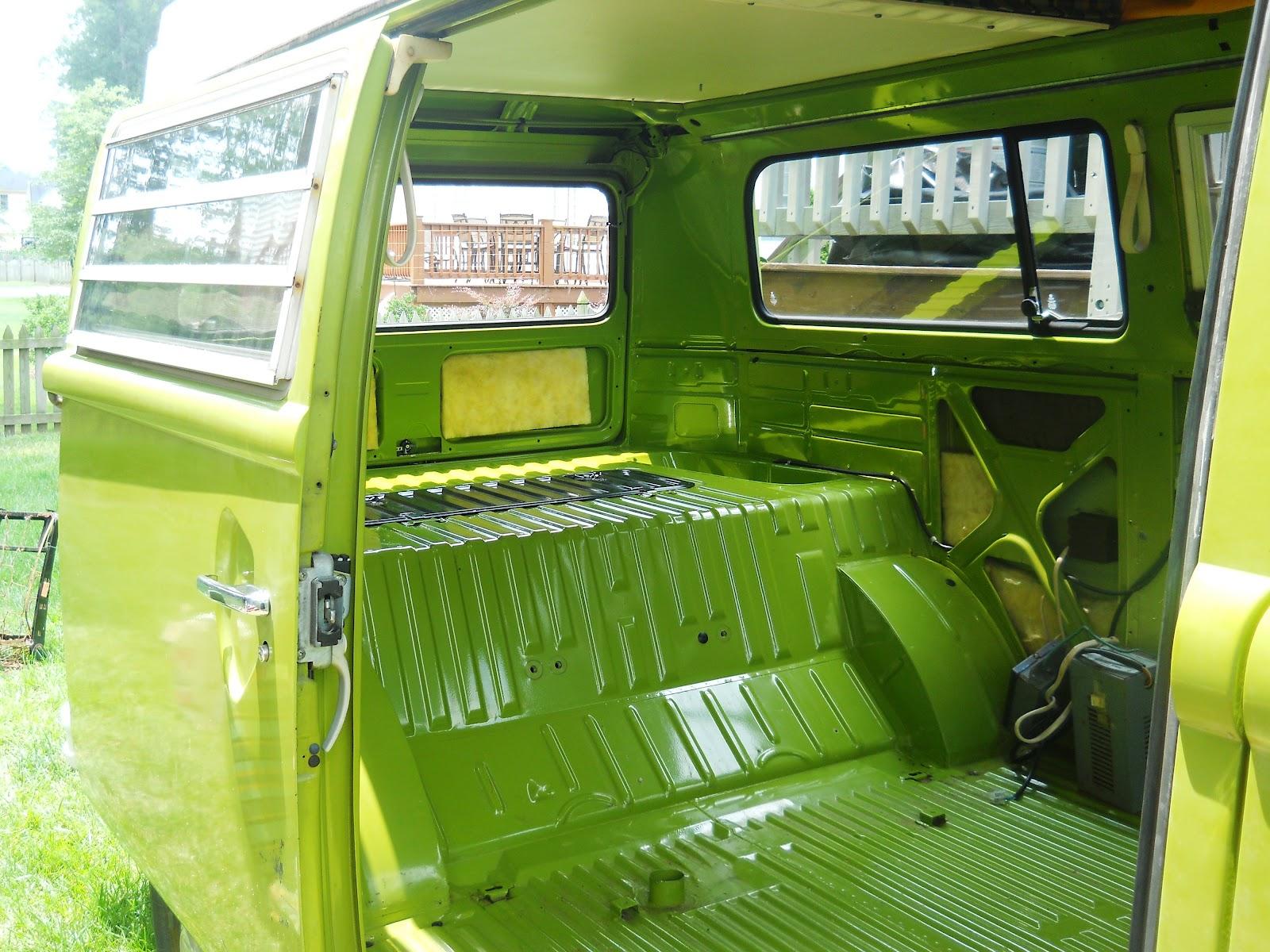 76 Vw Bus Restoration Removing The Interior