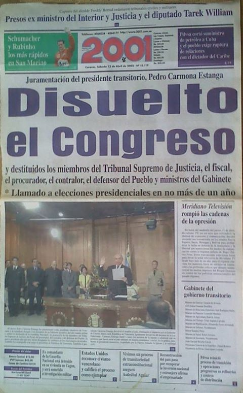 Hace 15 años ¿Por qué la OEA no se pronunció?