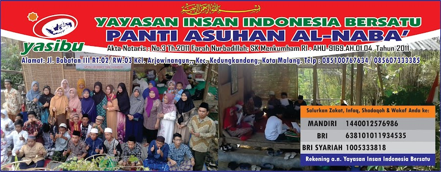 Panti Asuhan Yasibu Kota Malang, panti asuhan, panti asuhan yatim piatu dhuafa malang