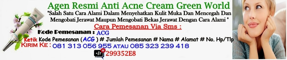 Anti Acne Cream Green World
