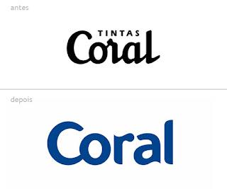 design de marcas - Coral