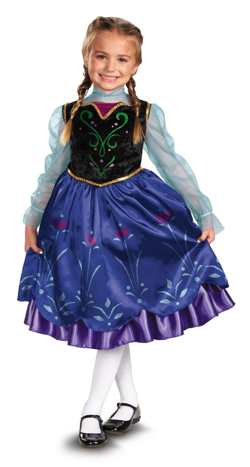 Thanks mail carrier girls costumes for year round fun frozen disney frozen anna costume sciox Choice Image