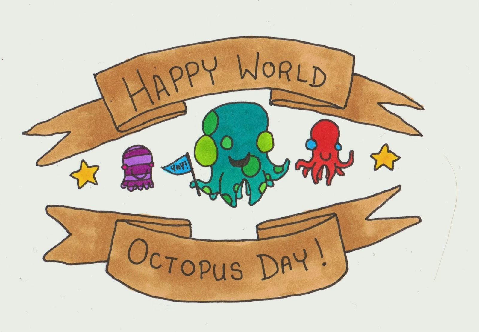 Image result for world octopus day