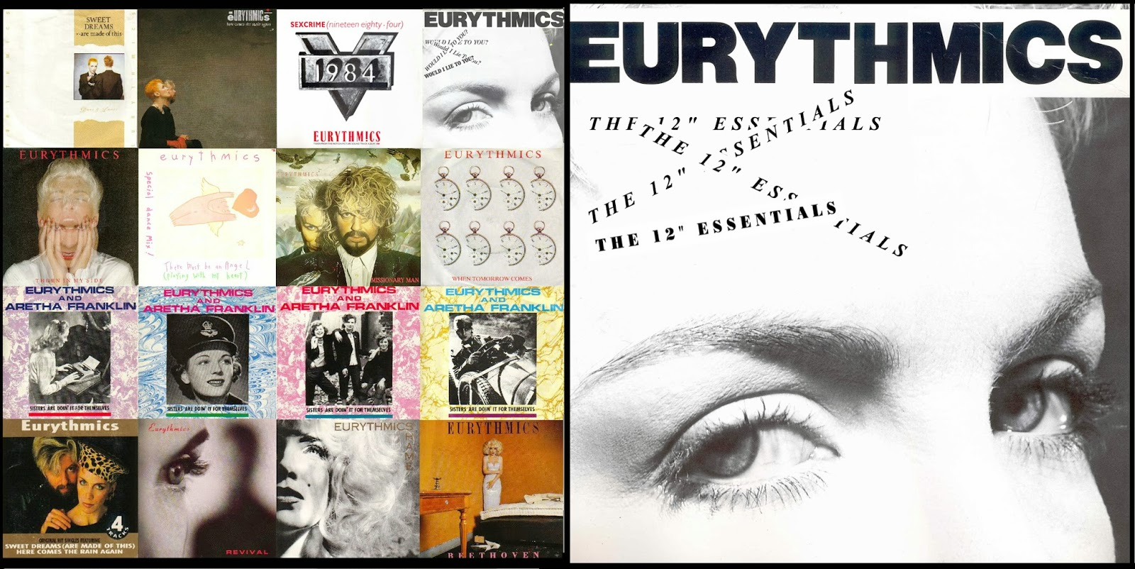 musicollection  eurythmics - the 12 u0026quot  essentials  3cd