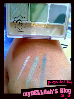 swatch Viva Queen eyeshadow in E