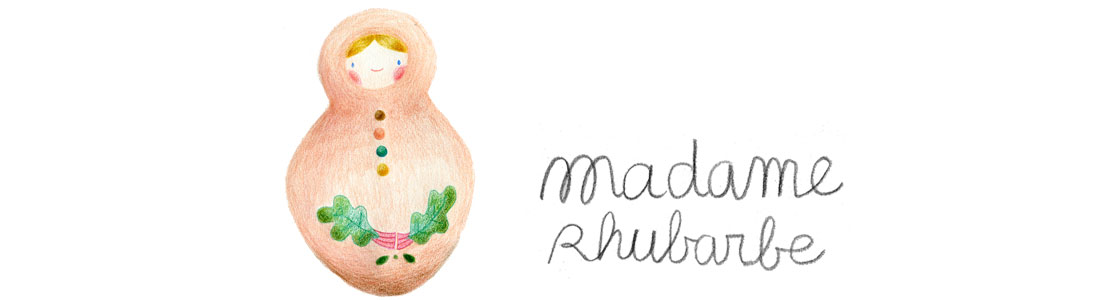 • M a d a m e • R h u b a r b e | illustration | graphisme •