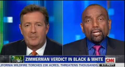 Jesse Lee Peterson Interview With Piers Morgan on CNN