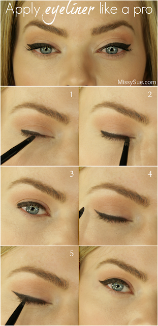 APPLY EYELINER LIKE A PRO
