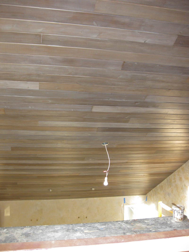 28 ceiling planks wood plank ceiling images wood for Faux wood ceiling planks
