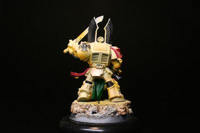 Acero en los exterminador de los Ángeles Oscuros de la caja de Warhammer: Venganza Oscura