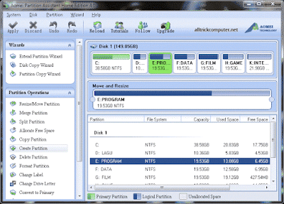 Download software partisi harddisk gratis