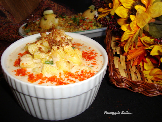 image of Pineapple Raita / Pineapple Raita Recipe
