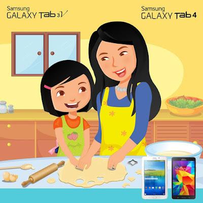 Kuis  #TabSolusiKeluarga Berhadiah Samsung Galaxy Tab 4