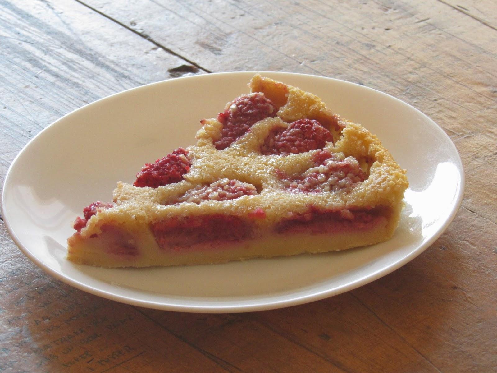 Clafoutis de fresas receta
