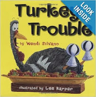 http://www.amazon.com/Turkey-Trouble-Wendi-Silvano/dp/0761455299/ref=sr_1_1?s=books&ie=UTF8&qid=1384000771&sr=1-1&keywords=turkey+trouble+by+wendi+silvano