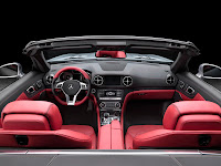 All New Model 2013 Mercedes-Benz SL 350 Edition 1 Roadster Cabriolet Press Official Picture Image Photo Media interior