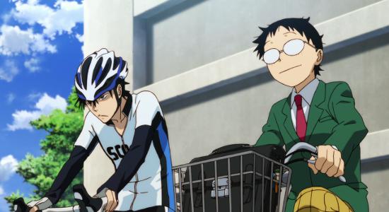 Recenzja anime Yowamushi Pedal (2013).
