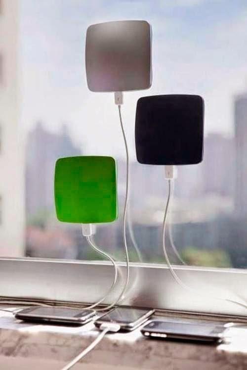 Carregador de celular a base de energia solar