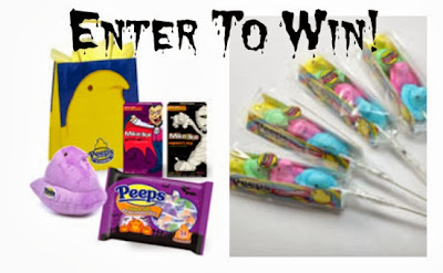 Enter to Win a Boo Bag and some Peeps Sticks from @PintSizedBaker and @PeepsandCompany