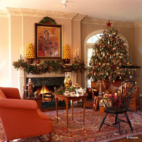 Decorar salas en navidad ideas para decorar dise ar y for Adornos de navidad para dormitorios
