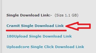 Step 1 - how to download movies from cramit.in