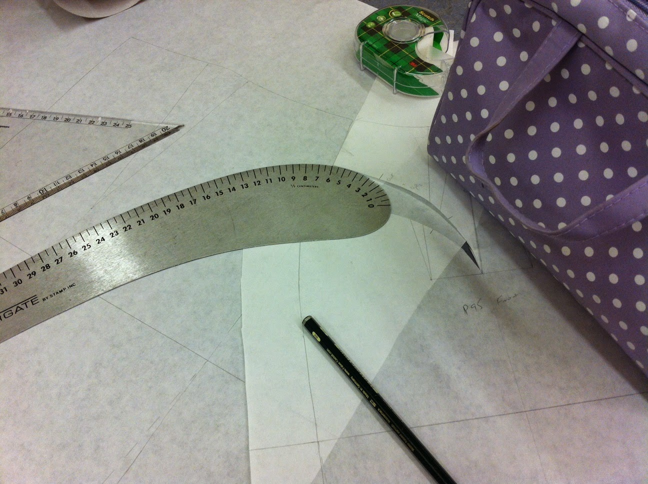 Pattern cutting womer's wear