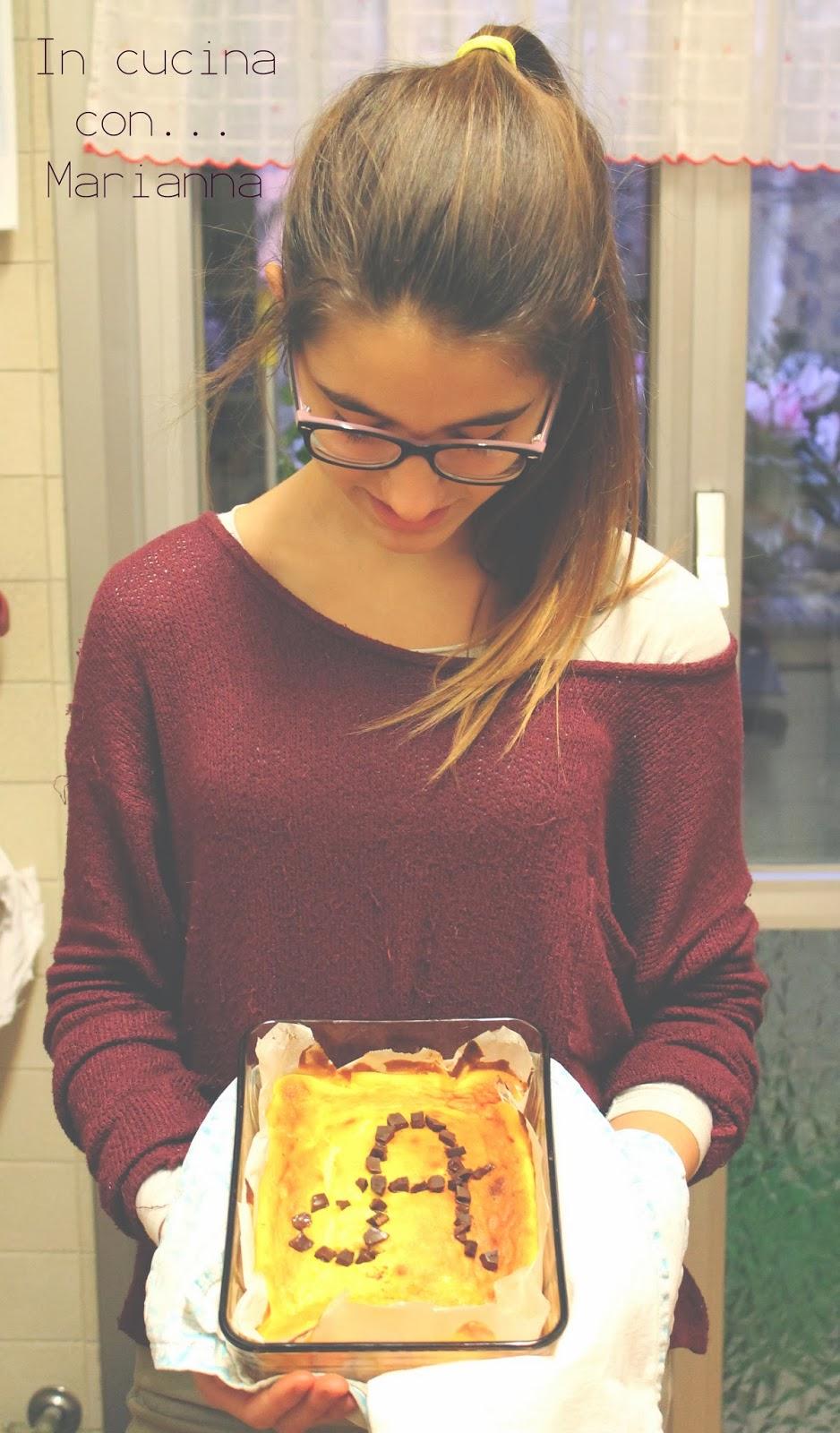 {in cucina con...} marianna - torta alla ricotta di zia rosella