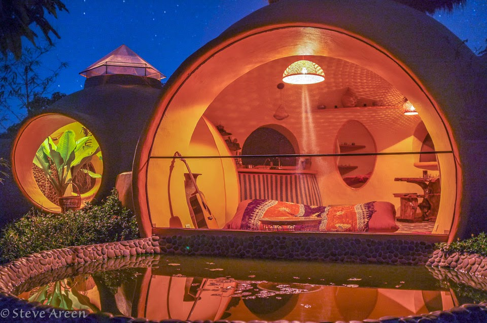 03-Night-View-Steve-Areen-Hajjar-Gibran-Dome-House-Design-www-designstack-co