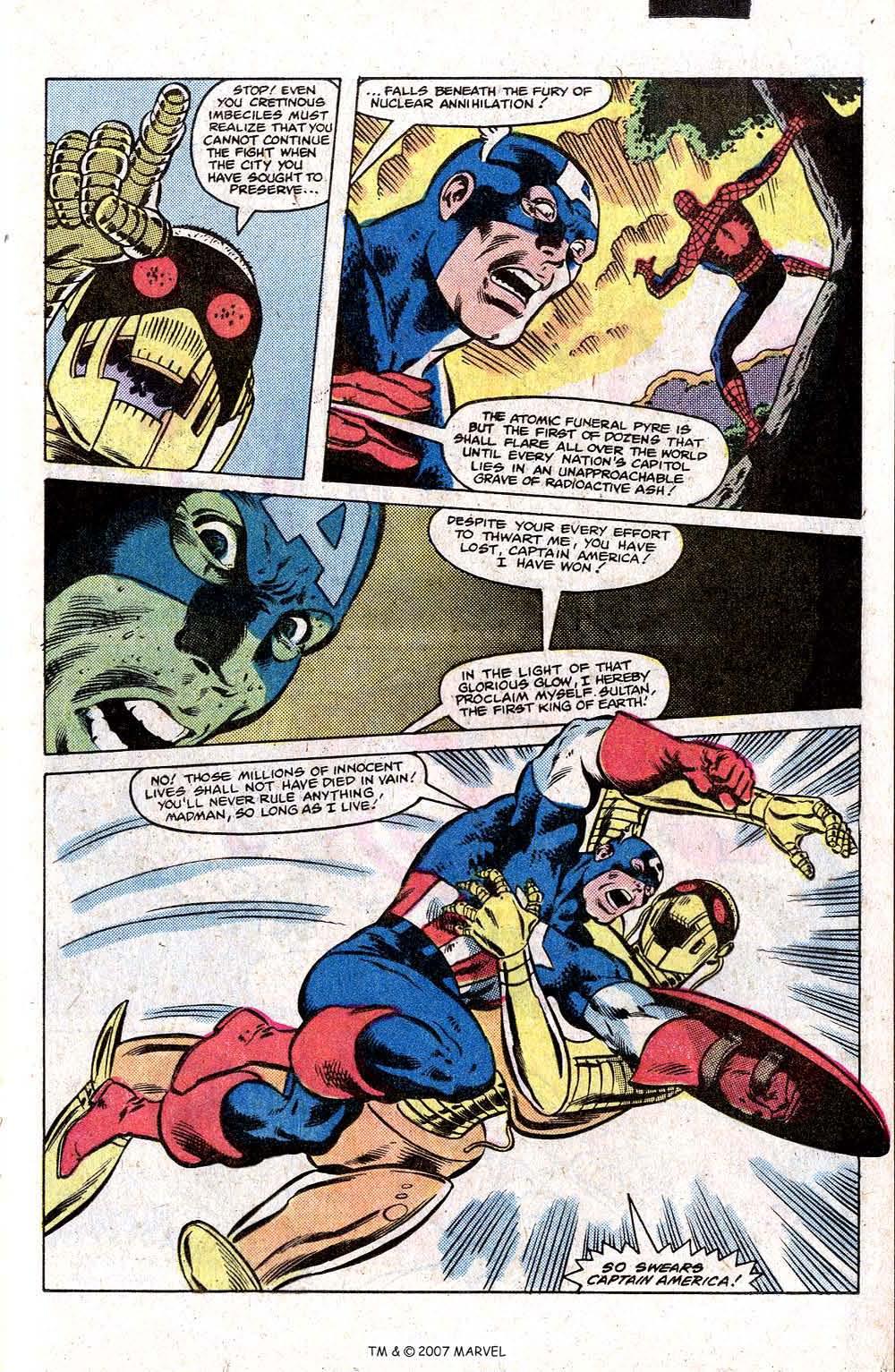 Captain America (1968) Issue #266 #181 - English 25