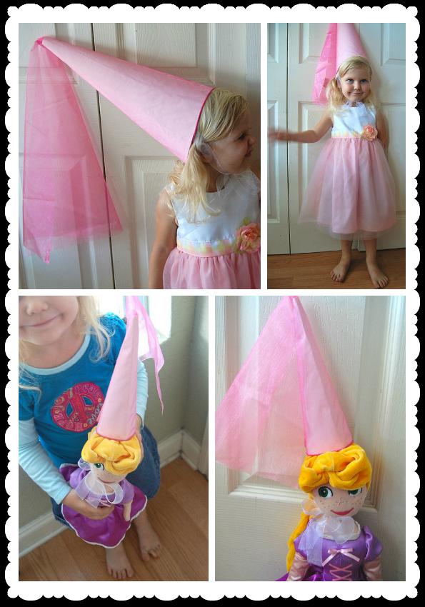 pelengkap dari gaun pesta si kecil. Buatkan juga versi kecil dari topi ...