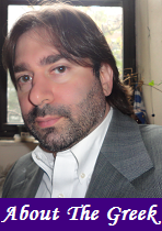 financial columnist, business writer, Markos Kaminis