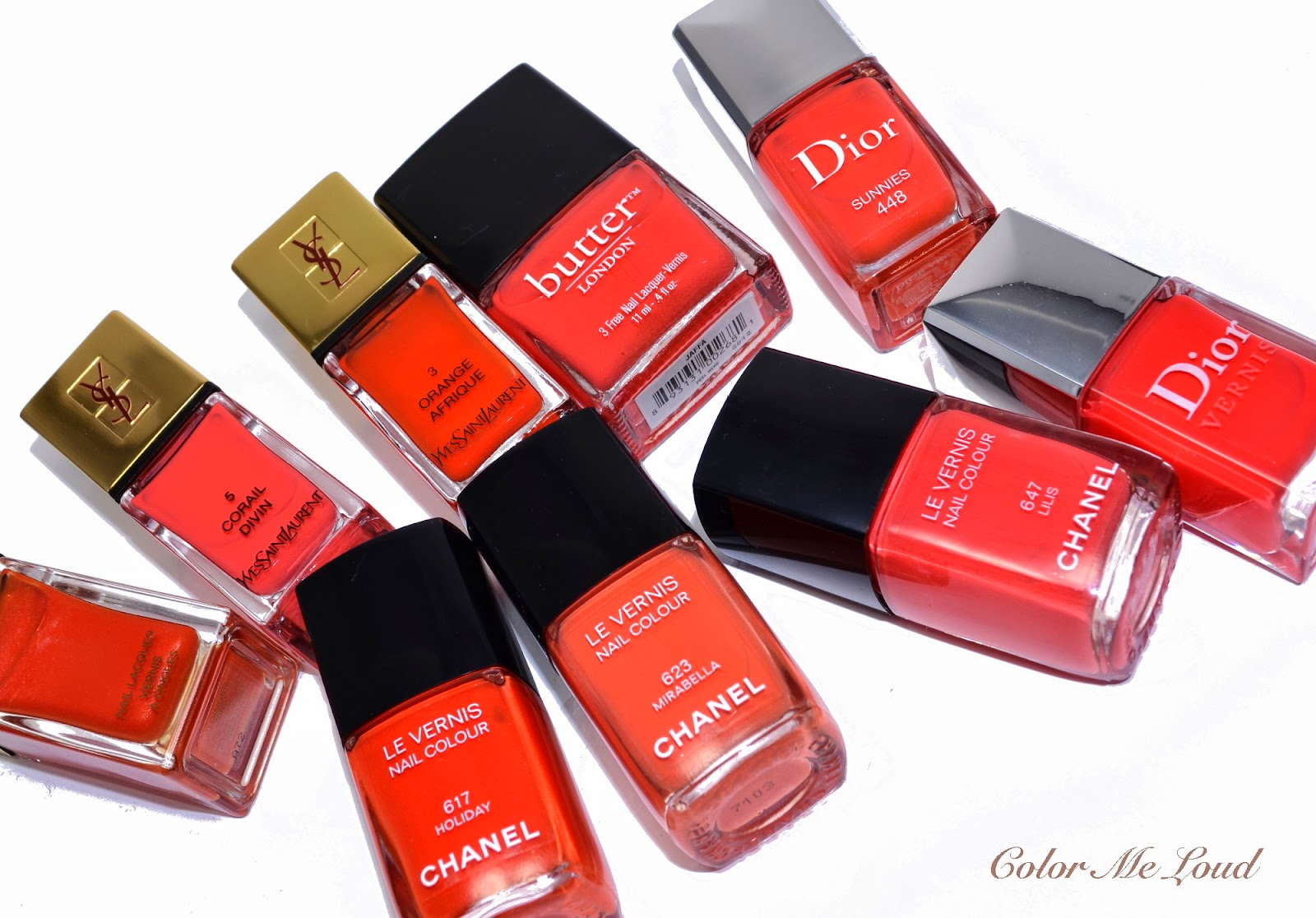 Chanel Le Vernis 623 Mirabella And Similar Nail Polishes In My Stash I Pulled Out Some Shades Which Cumulates Over The Years Search Of Perfect