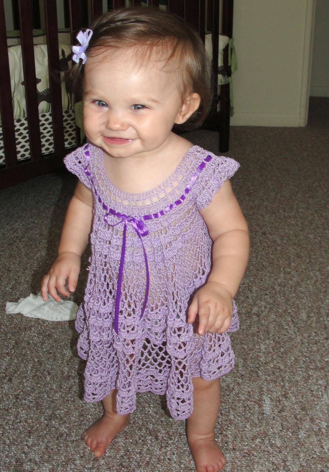 Baby Crochet Patterns For Summer : In Karapoozville: Crochet summer baby dress