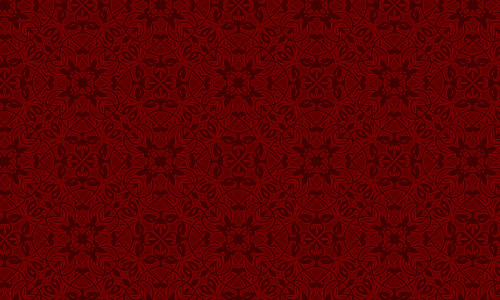 Royal Red Red Pattern