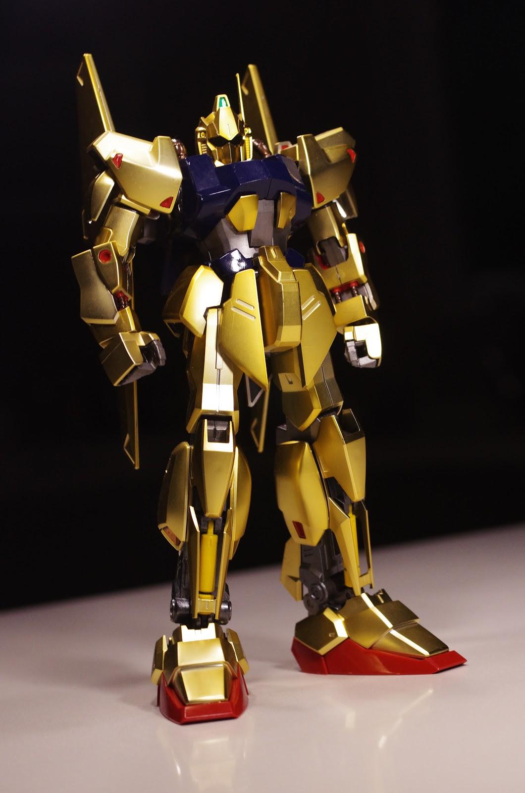 [模型攝影] MG HD color Hyaku-Shiki 百式