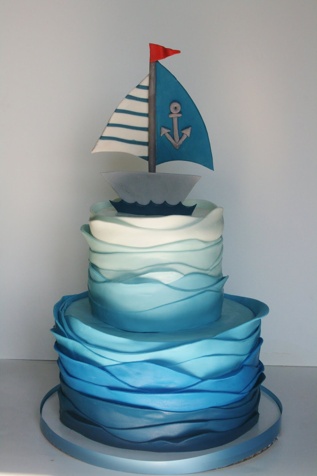 party theme of the month in my cake world is definitely nautical