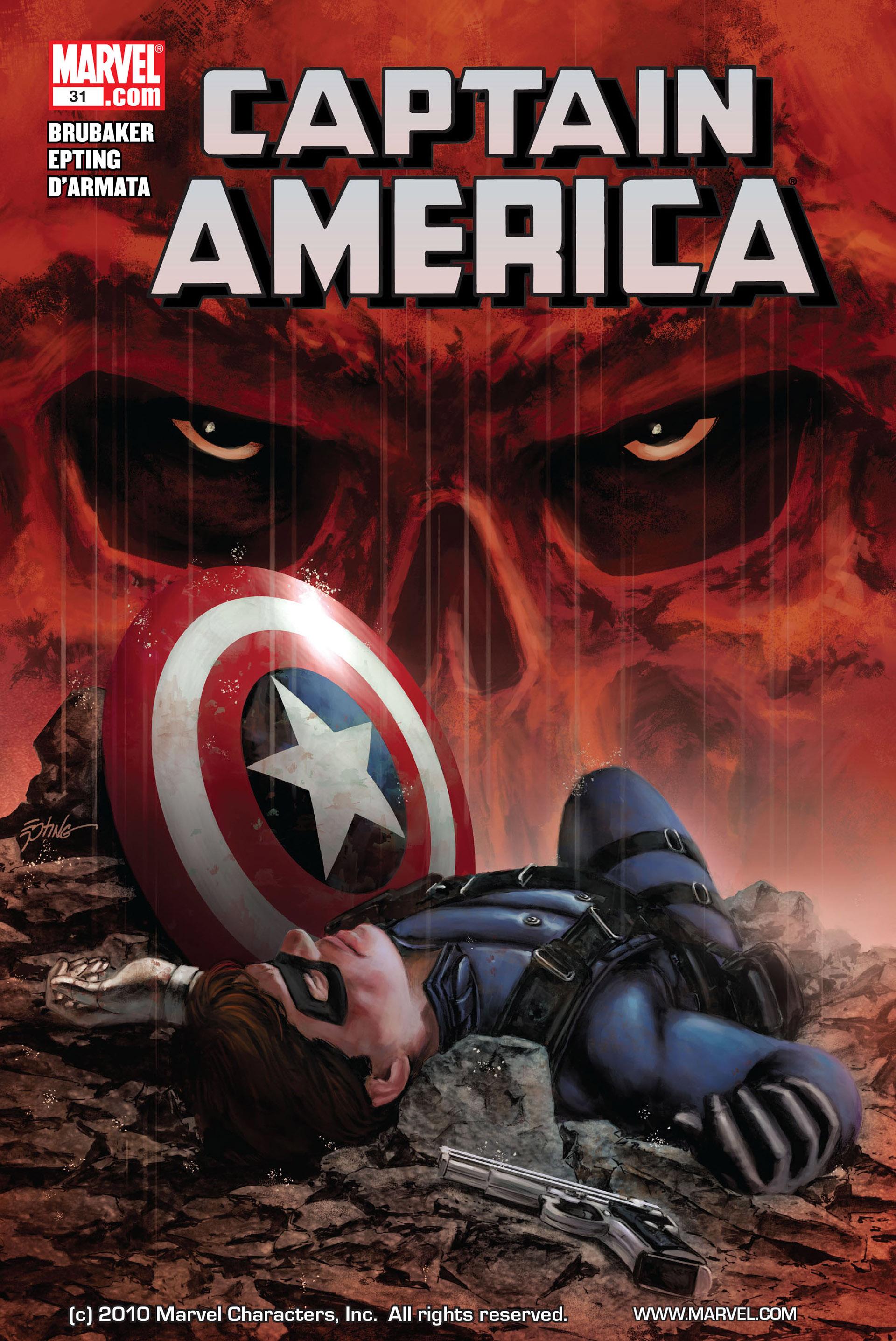 Captain America (2005) Issue #31 #31 - English 1