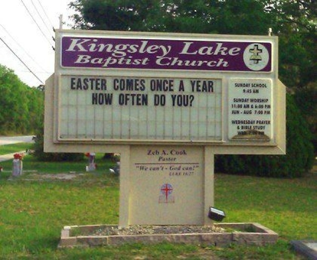 Awkward Church Signs ~ Damn Cool Pictures