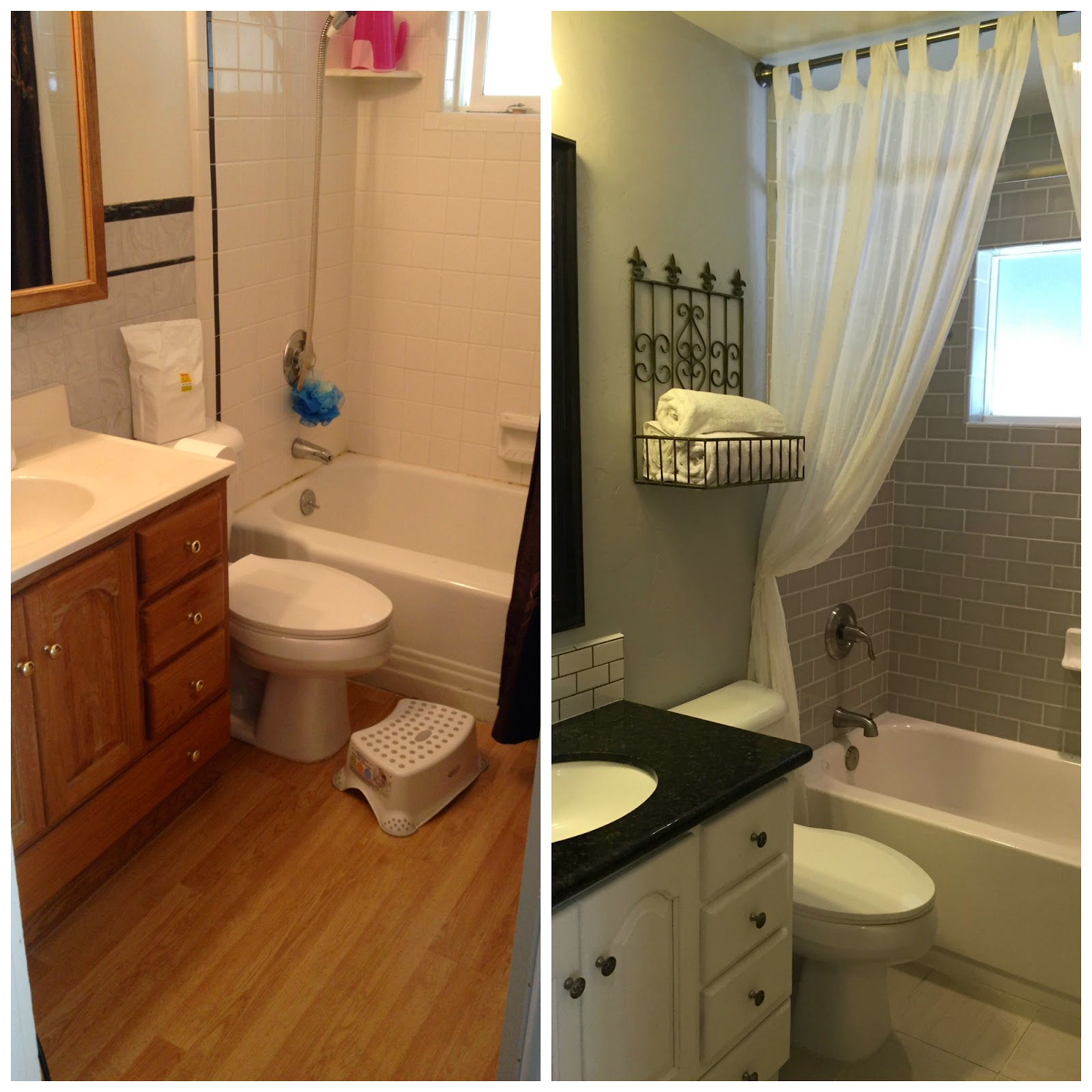 April All Year: Small Bathroom Renovation