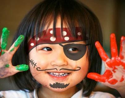 Ideas para pintar la cara decorar en familia def deco for Pinturas de cara para halloween