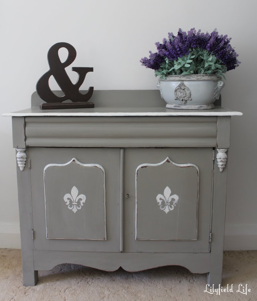 Rustic painted furniture - Lilyfield Life Painted Furniture Annie Sloan Chalk Paint