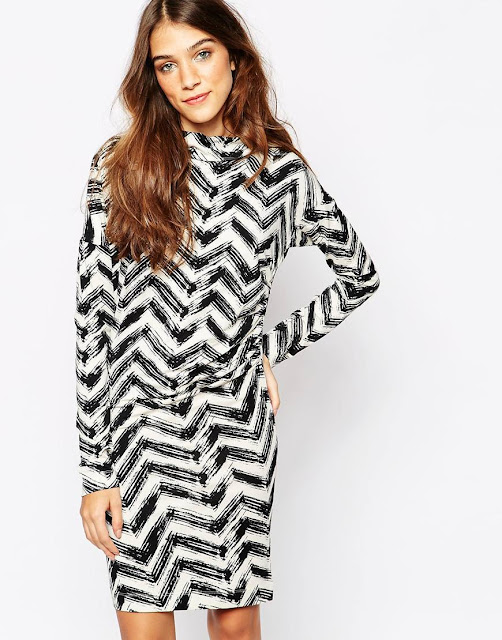 zig zag dress, antwerp print dress,