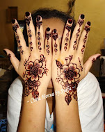 Henna Atas Tangan