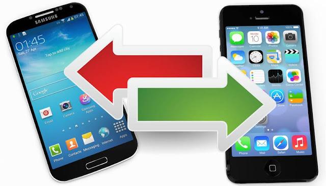 Transferir informacion entre los OS móviles es mas fácil de lo que parece