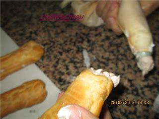 Leçon illustrées de Pâte à choux4/les éclaires
