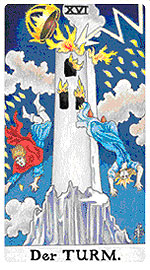 Значение на Таро карта ХVI Кулата - хороскоп за 2015 година