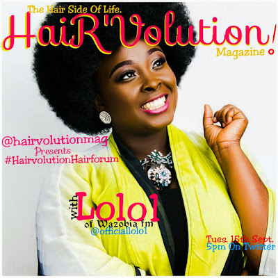 ANYTHING I EAT, I PUT IN MY HAIR - LOLO 1 OF WAZOBIA FM.