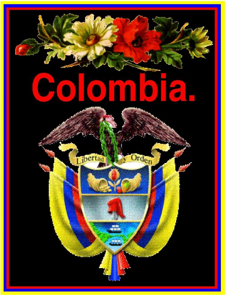 COLOMBIA TE AMO!!...